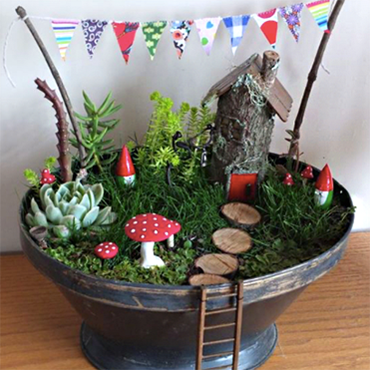 Design Your Own Fairy Garden