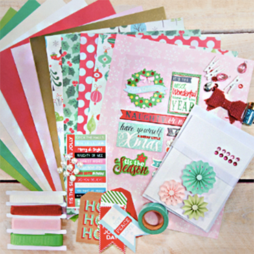 Holiday Christmas Card Making