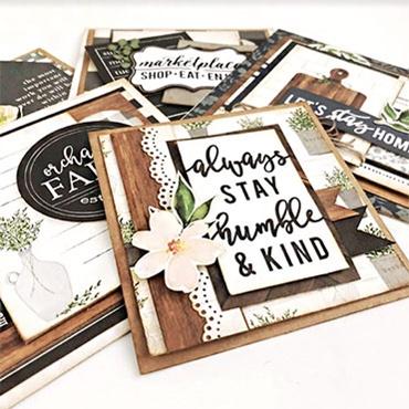 Farmhouse Paper Cards