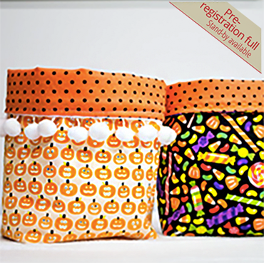 2 Fat Quarter Buckets