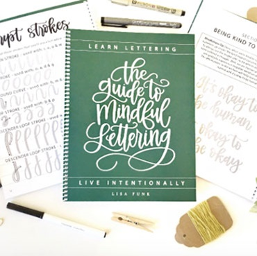 Intro to Mindful Hand Lettering