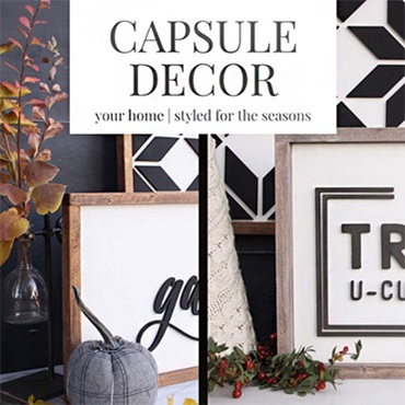 Capsule Decor-Styling Your Home for the Seasons