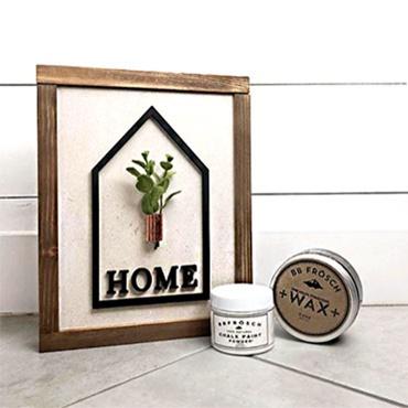 Home Pocket Frame-Interchangeable Sign