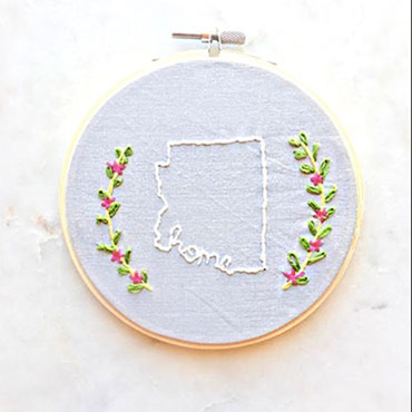 Introduction to Embroidery-Arizona Love