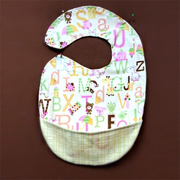 Two Fat Quarter Baby Bib
