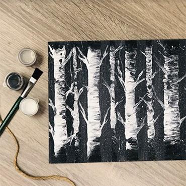 Acryllic Trees