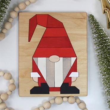 Wooden Gnome Puzzle