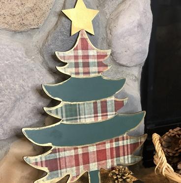 Christmas Tree Decoupage Fun!